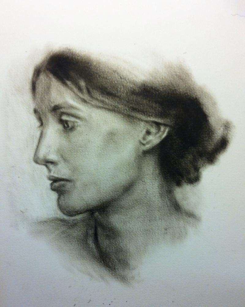 Virginia Woolf por Hersent